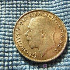 Monedas antiguas de Europa: REINO UNIDO - 1 SHILLING 1921 PLATA - CHELIN - GRAN BRETAÑA. Lote 26989645