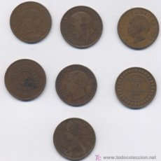 Monedas antiguas de Europa: LOTE DE 7 COBRES. Lote 7773211