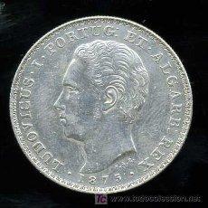 Monedas antiguas de Europa: PORTUGAL : 500 REIS 1875 (PLATA). Lote 26472323