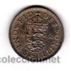 Monedas antiguas de Europa: REINO UNIDO.-ONE SHILLING (AÑO 1961). ELIZABETH II.. Lote 9691910