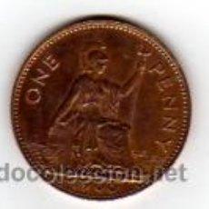 Monedas antiguas de Europa: ONE PENNY (AÑO 1966). ELIZABETH II - REINO UNIDO. Lote 9691993