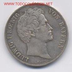 Monedas antiguas de Europa: 77- ALEMANIA- BAVIERA- 2 TALER-1845. Lote 2107748