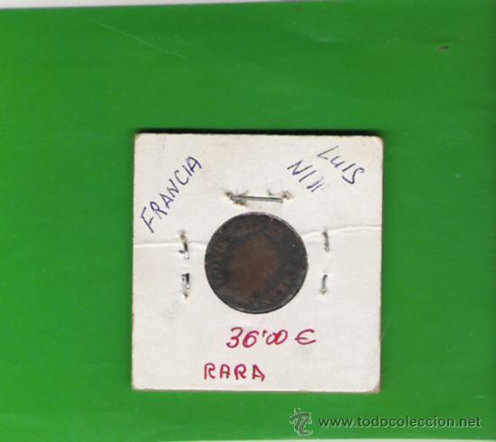 FRANCIA MONEDA RARA (Numismática - Extranjeras - Europa)