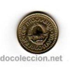 Monedas antiguas de Europa: YUGOSLAVIA.- 2 DINARA (AÑO 1982).. Lote 145523213