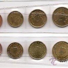 Monedas antiguas de Europa: TIRA DE LAS MONEDAS DE EURO DE HOLANDA DEL AÑO 1999. SIN CIRCIRCULAR.. Lote 23433617