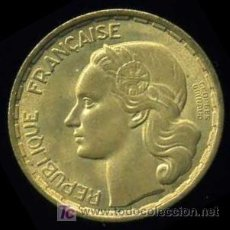 Monedas antiguas de Europa: FRANCIA : 20 FRANCOS 1950, VARIANTE GEORGE GUIRAUD - 3 PLUMAS. Lote 10804444