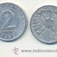 Monedas antiguas de Europa: 4-1068. MONEDA AUSTRIA. 2 GROSCHEN 1952. RC. Lote 261678380