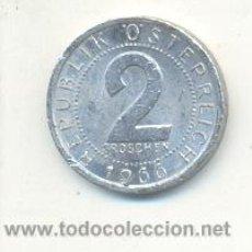 Monedas antiguas de Europa: 4-1072. MONEDA AUSTRIA. 2 GROSCHEN 1966. RC. Lote 10990705