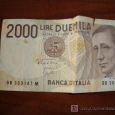 Monedas antiguas de Europa: 2000 LIRAS, ITALIA 1990. Lote 11821256
