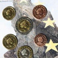 Monedas antiguas de Europa: REINO UNIDO INGLATERRA EUROS 2002. Lote 126593138