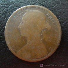 Monedas antiguas de Europa: ONE PENNY REINA VICTORIA 1883-GRAN BRETAÑA. Lote 21383437