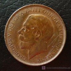 Monedas antiguas de Europa: ONE PENNY GEORGIUS V 1912. Lote 26175134