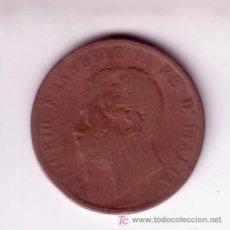 Monedas antiguas de Europa: 10 CENTESIMI VITTORIO EMANUELE II DE ITALIA 1867. Lote 27292687
