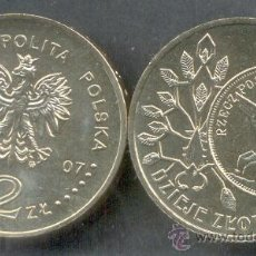 Monnaies anciennes de France: POLONIA 2 ZLOTE 2007 ZLOTEGO. Lote 203760343