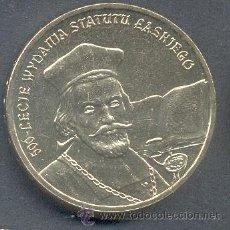 Monnaies anciennes de France: POLONIA 2 ZLOTE 2006 500º ANIV. ESTATUTO LASKIEGO. Lote 179212208