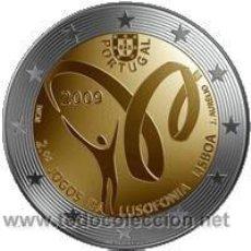 Monedas antiguas de Europa: 2 EUROS LUSOFONIA PORTUGAL 2009. Lote 62302120