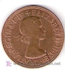 MONEDAS - ONE PENNY - 1967 - ELIZABETH II (Numismática - Extranjeras - Europa)