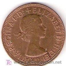Monedas antiguas de Europa: MONEDAS - ONE PENNY - 1967 - ELIZABETH II. Lote 16545351