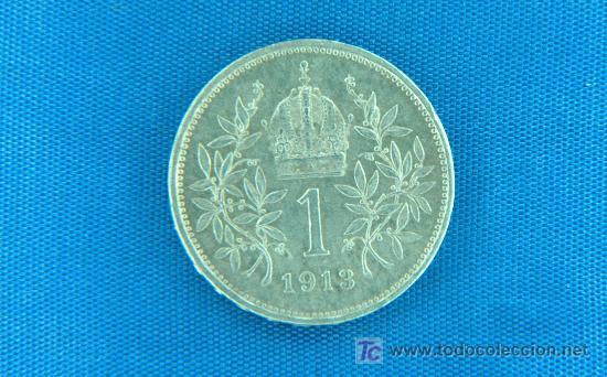 1 Corona Plata Austria Emp Francisco José 1 Comprar Monedas