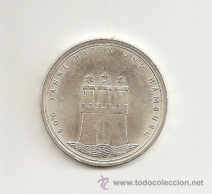 Muy Escasa Moneda De Alemania 10 Deutsche Mark Comprar Monedas