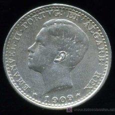 Monnaies anciennes de Europe: PORTUGAL : 100 REIS 1909 (PLATA). Lote 19456934