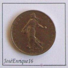 Monedas antiguas de Europa: 1967 - 1 FRANC REPUBLIQUE FRANCAISE. MONEDA FRANCIA. Lote 20941072
