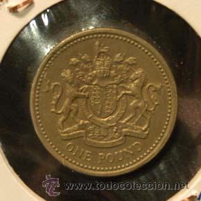 MONEDA 1 POUND 1983 INGLATERRA (Numismática - Extranjeras - Europa)