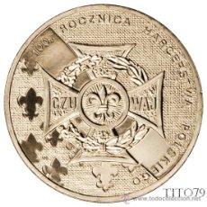 Monedas antiguas de Europa: POLONIA 2 ZLOTE 2010 100º ANIV. ESCUTISMO POLACO BOY SCOUTS. Lote 148228462