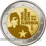 MONEDA CONMEMORATIVA DE 2 € SLOVENIA 2011 (Numismática - Extranjeras - Europa)