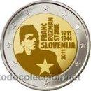 Monedas antiguas de Europa: MONEDA CONMEMORATIVA DE 2 € SLOVENIA 2011. Lote 129367019