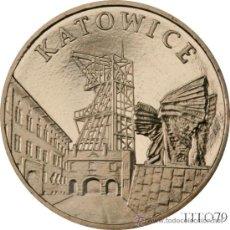 Monnaies anciennes de France: POLONIA 2 ZLOTE 2010 CIUDADES EN POLONIA KATOWICE. Lote 207400468