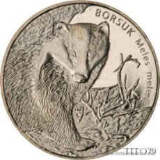 Monnaies anciennes de France: POLONIA 2 ZLOTE 2011 TEJON EUROPEO. Lote 183466435