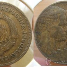 Monedas antiguas de Europa: YUGOESLAVIA YUGOSLAVIA - 50 DINARA 1955. Lote 25489735