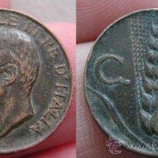 Monedas antiguas de Europa: ITALIA 5 CENTESIMI 1920. Lote 26075119