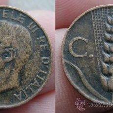 Monedas antiguas de Europa: ITALIA 5 CENTESIMI 1921. Lote 26075121