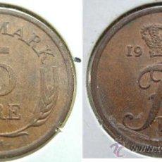 Monedas antiguas de Europa: DINAMARCA 5 ORE 1965. Lote 26309341