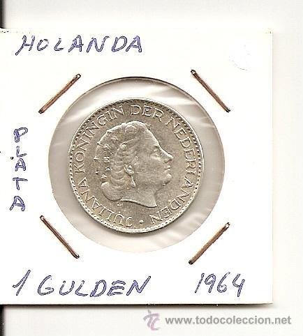 Bonita Moneda De Plata Juliana Koningin Der Ne Comprar Monedas