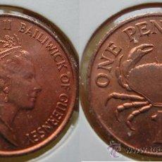 Monedas antiguas de Europa: GUERNSEY 1 PENNY 1989. Lote 26352216
