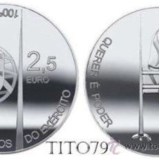 Monedas antiguas de Europa: PORTUGAL 2011 2,5 EUROS CENTENARIO DEL INSTITUTO DE LOS ALUMNOS DEL EJERCITO. Lote 108412778