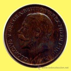 Monedas antiguas de Europa: INGLATERRA . GEORGIUS V . 1 PENNY . 1911. Lote 27749065