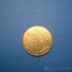 Monedas antiguas de Europa: 20 CENTIMOS FRANCIA 1997. Lote 27855065