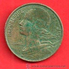 Monedas antiguas de Europa: MONEDA REPUBLICA FRANCIA 10 CENTIMES EL 1963. Lote 27880251