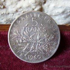 Monete antiche di Europa: FRANCIA - 5 FRANCOS 1960. Lote 28020971