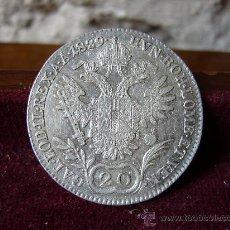 Monedas antiguas de Europa: AUSTRIA - 20 KREUZER 1829 A - FRANCISCO I. Lote 28076019