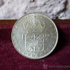 Monedas antiguas de Europa: SUECIA - 1 CORONA 1967. Lote 28077109