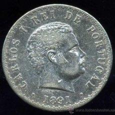 Monedas antiguas de Europa: PORTUGAL : 500 REIS 1891 (PLATA). Lote 28230391