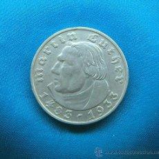 Monedas antiguas de Europa: MONEDA 2 REICHSMARK 1933 - LUTERO - EMISIÓN DE MÚNICH - 2 MARCOS DE PLATA - ALEMANIA III REICH. Lote 28231468
