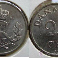 Monedas antiguas de Europa: DINAMARCA 25 ORE 1957. Lote 28378544