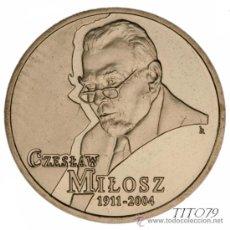 Monnaies anciennes de France: POLONIA 2 ZLOTE 2011 CZESLAW MILOSZ (1911 - 2004). Lote 191551632