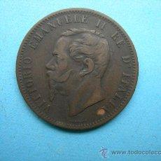 Monedas antiguas de Europa: VITTORIO EMANUELE II - 10 CENTESIMI 1862. Lote 28580118